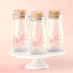 Its a Girl Milk Jar (Set of 12)