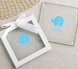 Personalized Glass Coaster - Little Peanut