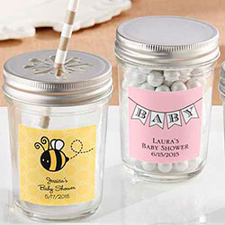 Personalized Glass Mason Jar - Baby (Set of 12)