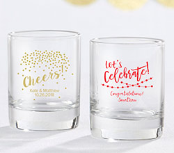 Personalized Shot Glass/Votive Holder - Party Time