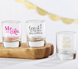 Personalized Shot Glass/ Votive Holder